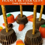 Witch Brooms Peanut Butter Cups Candy Recipe
