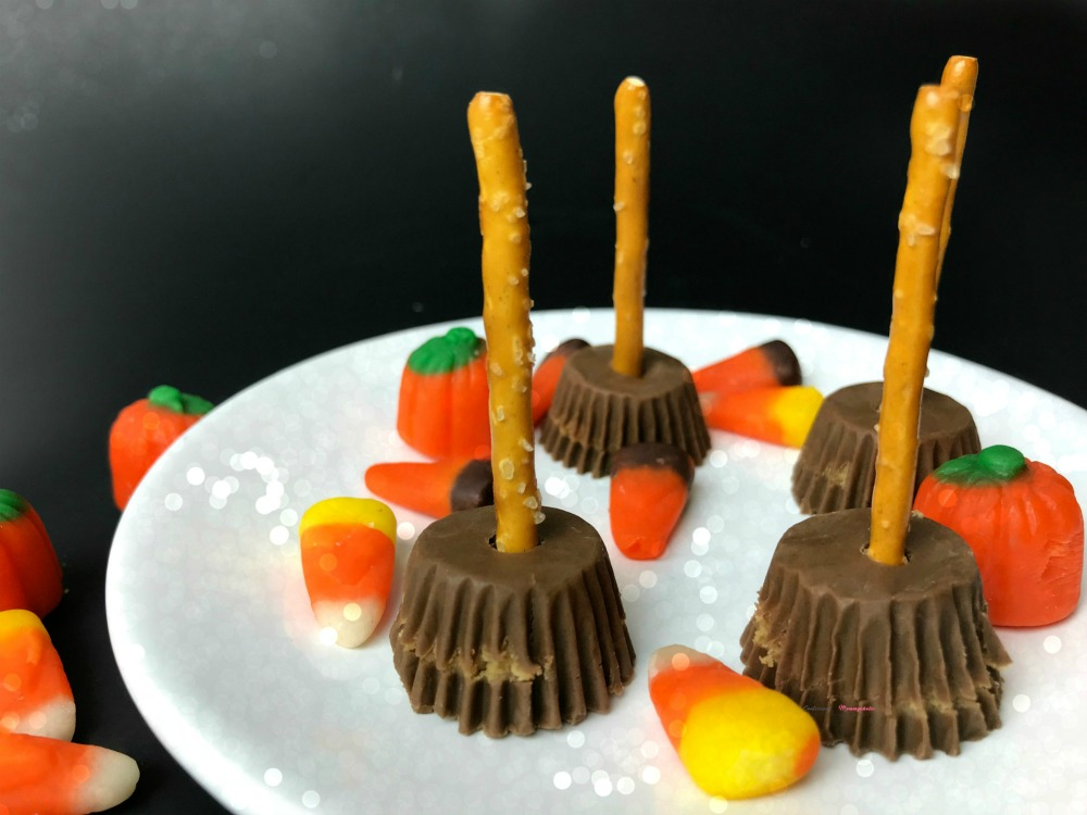 Witch Brooms Peanut Butter Cups Recipe Horizontal 1