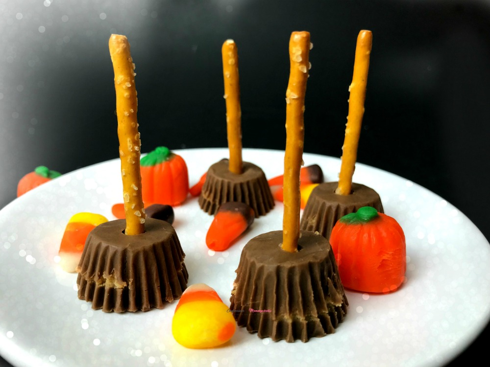 Witch Brooms Peanut Butter Cups Recipe Horizontal 2
