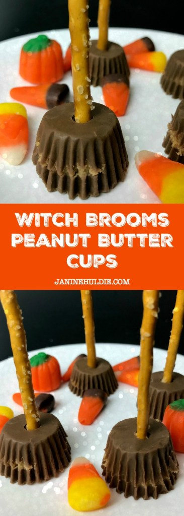 Witch Brooms Peanut Butter Cups Recipe