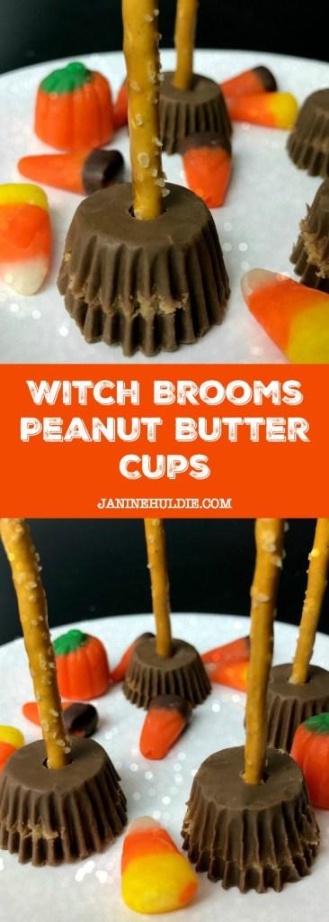 Witch Brooms Peanut Butter Cups Recipe