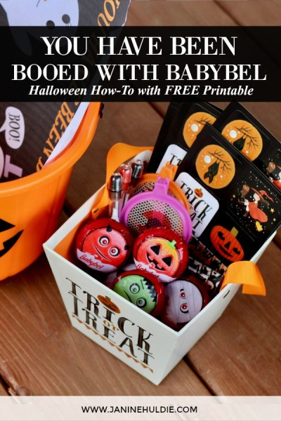 You Have Been Booed with Babybel Halloween How To Featured Image