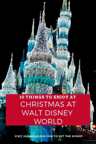 10 Things to Enjoy at Christmas at Walt Disney World