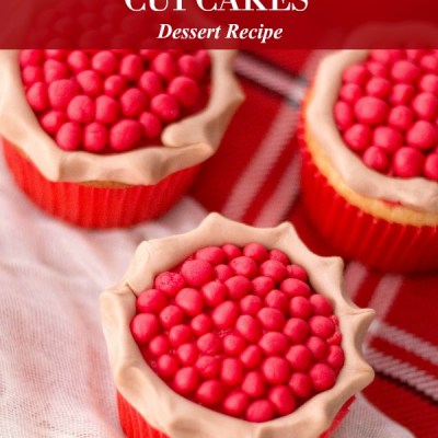 Cherry Pie Cupcakes Recipe Featured Image
