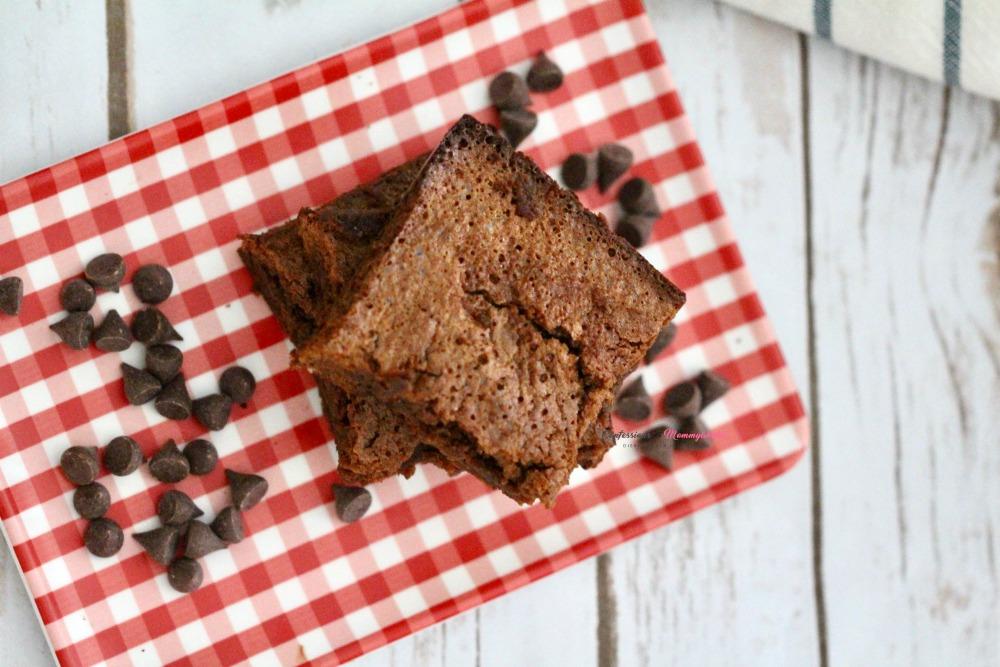 Gluten Free Double Chocolate Brownies Horizontal 1