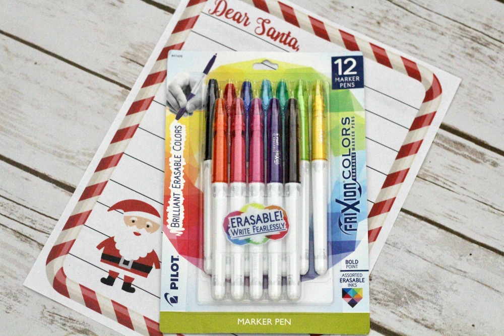 Pilot FriXion and Santa Letter