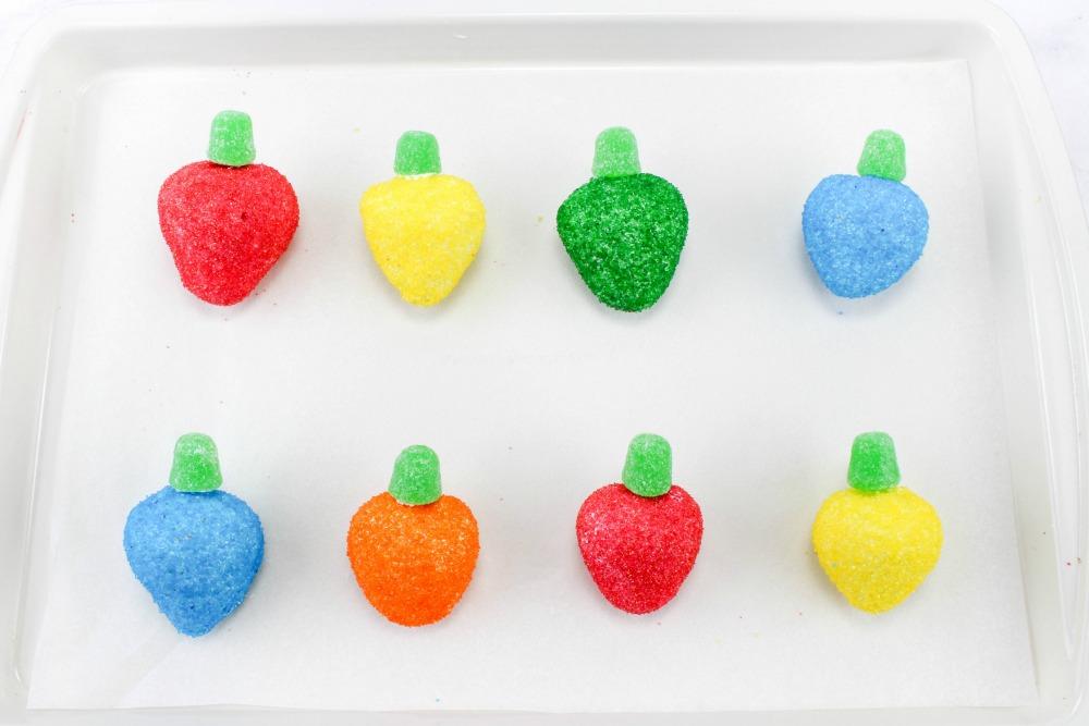 Strawberry Christmas Lightbulbs, This Mom's Confessions