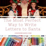 The Most Perfect Way to Write Letters to Santa with FREE Santa Letter Printable