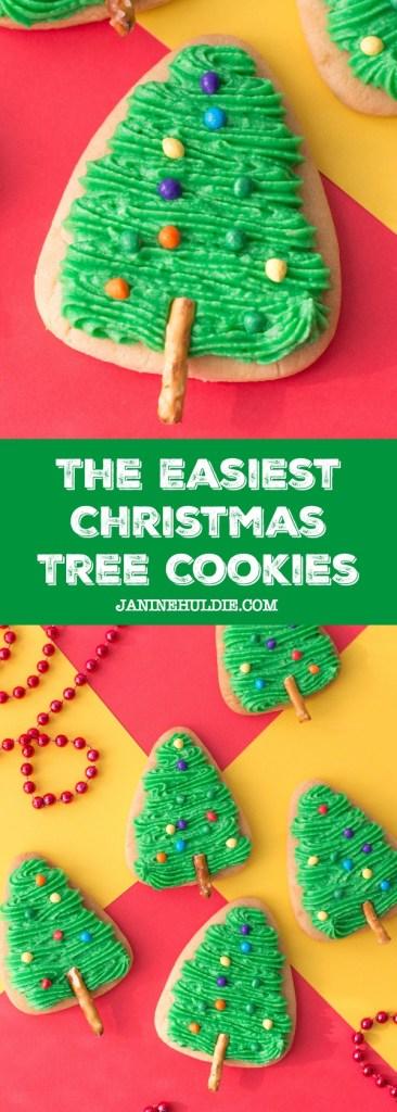 The Easiest Christmas Tree Cookies Recipe