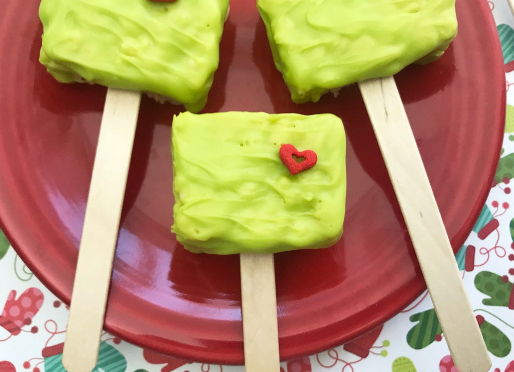 The Grinch Rice Krispie Treats, This Mom's Confessions