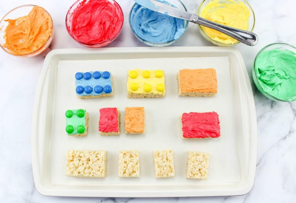 Lego Rice Krispie Treats In Process 2