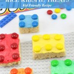 Lego Rice Krispie Treats for All the Lego Loving Builders