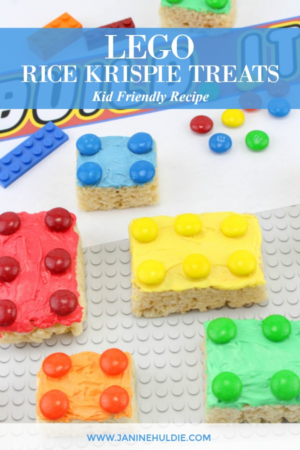 Lego Rice Krispie Treats Recipe