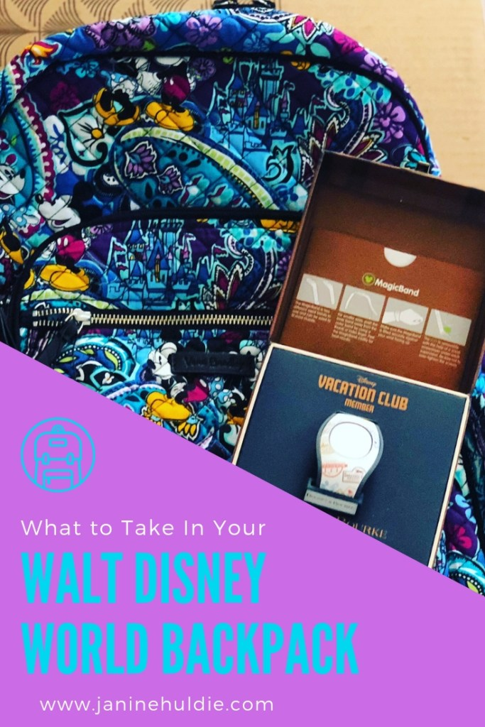 What to Take In Your Walt Disney World Backpack