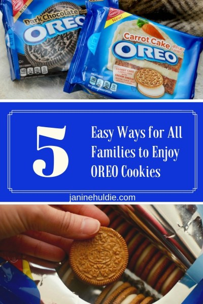 5 Easy Ways for All Families to Enjoy Oreo Cookies