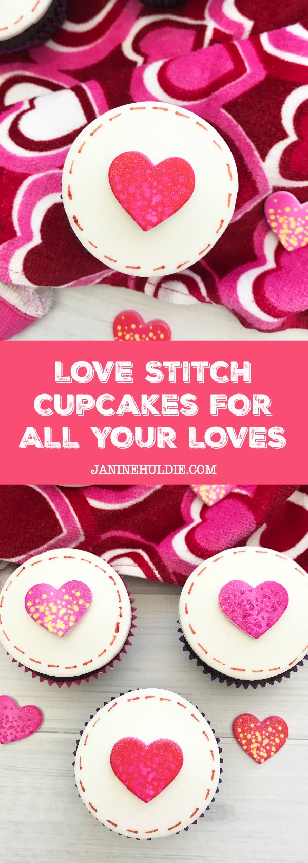Love Stitch Cupcakes, This Mom's Confessions