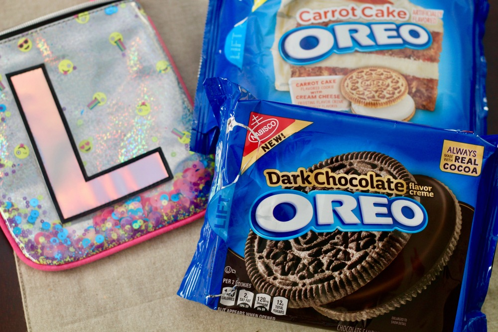 OREO Packages with Girl Snack Bag