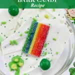 St. Patrick's Day Bark Candy Recipe Tutorial