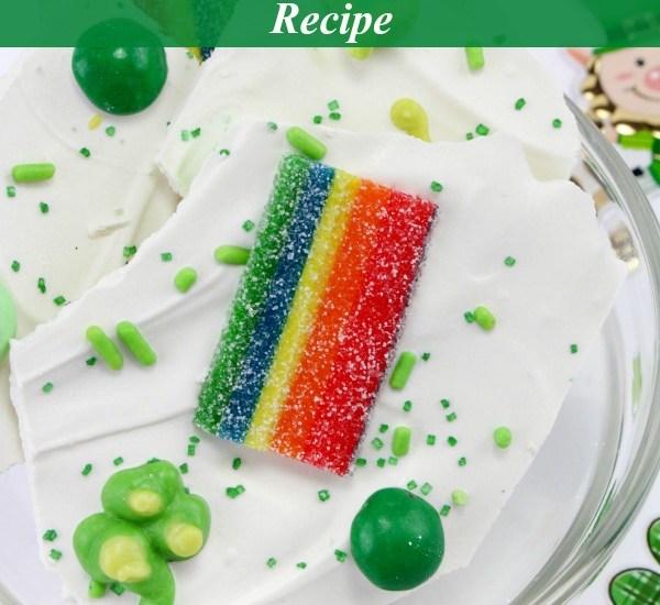 St. Patrick's Day Bark Candy Recipe