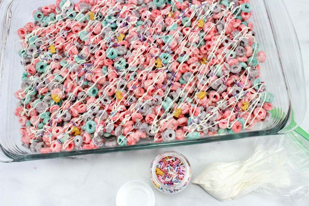 Unicorn Froot Loops Treats In Process 5