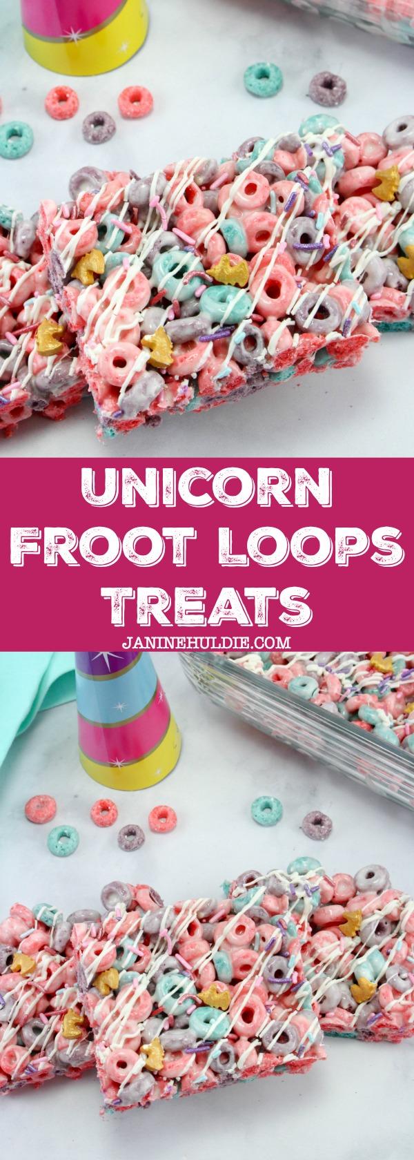 Unicorn Froot Loops Treats Recipe