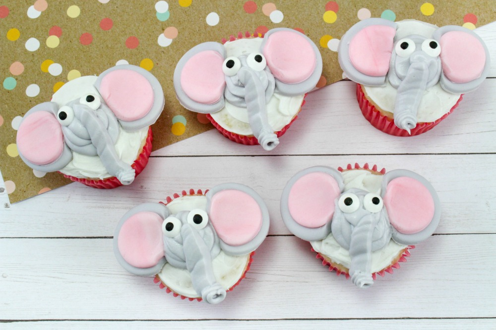 Dumbo Cupcakes, This Mom's Confessions