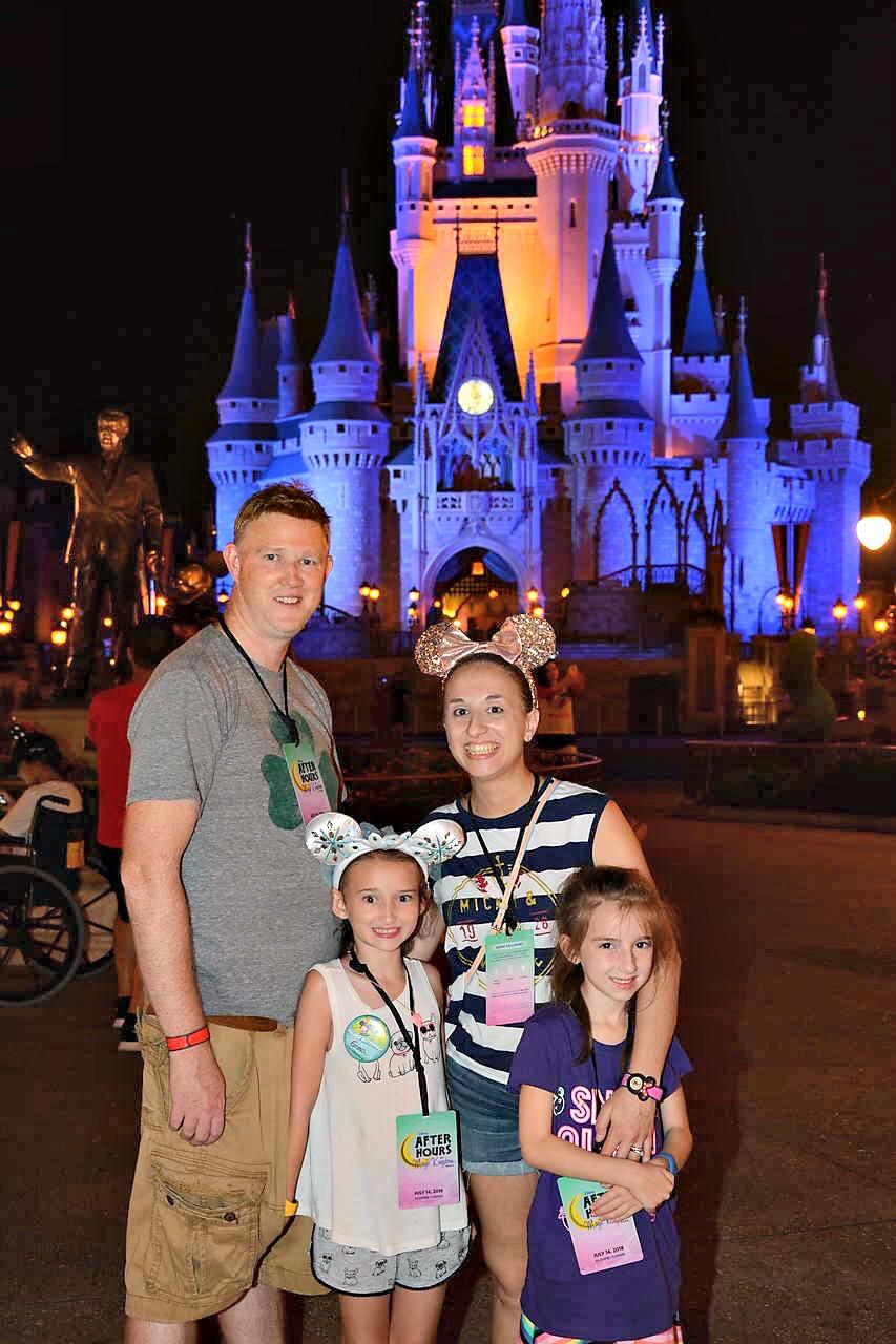 Magic Kingdom Cinderellas Castle After Hours