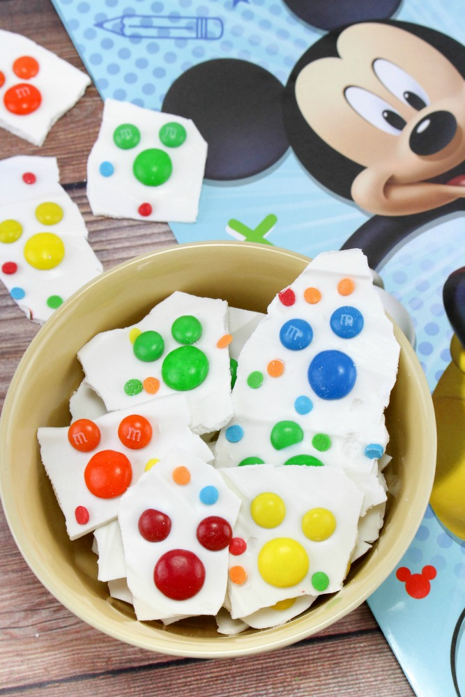 Mickey Mouse Bark Candy Recipe Final 1