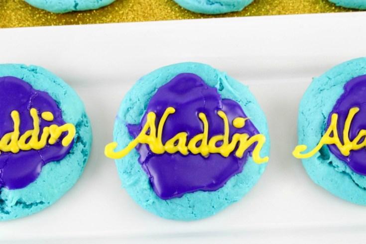 Disney Inspired Aladdin Cookies Recipe Tutorial