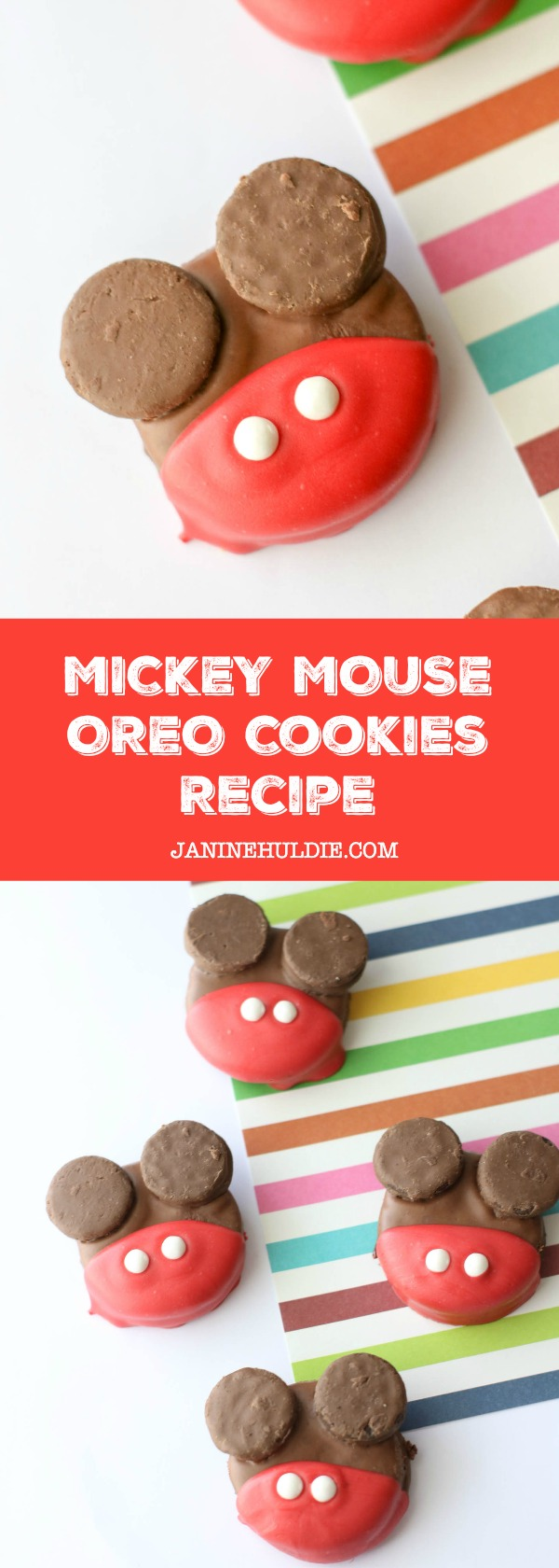 Disney Inspired Mickey Mouse OREO Cookies Recipe