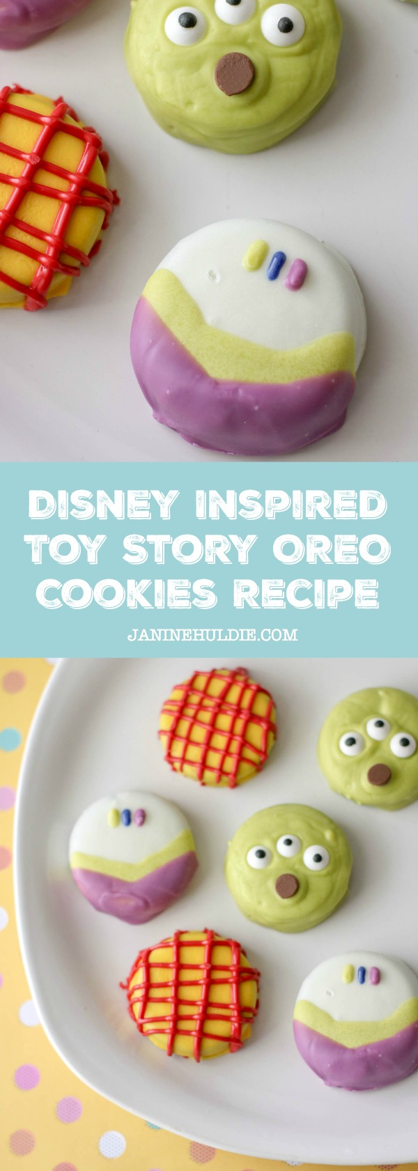 Disney Inspired Toy Story OREO Cookies Recipe