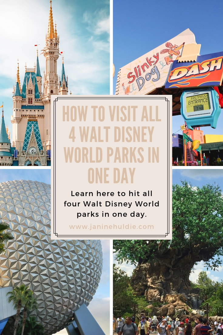 4 Parks in One Day _ The Ultimate Disney World Hop
