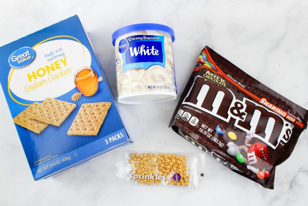 American Flag Graham Cracker Patriotic Treats Ingredients