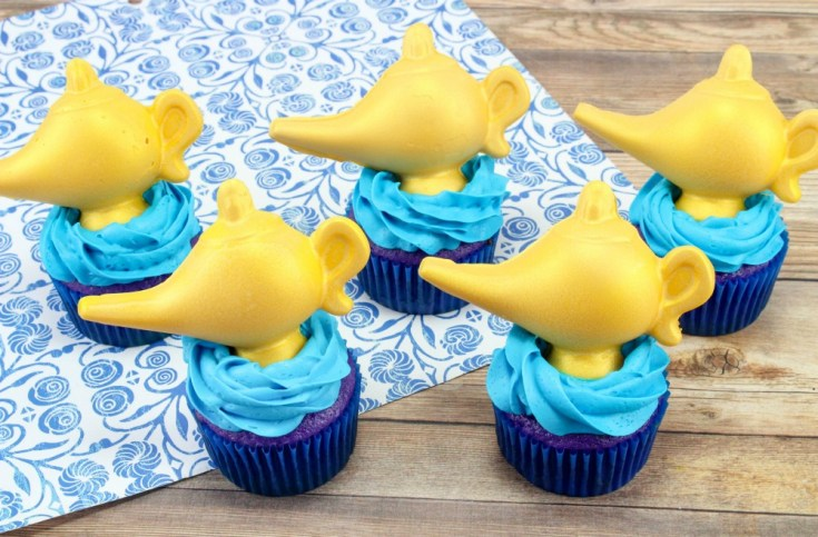 Aladdin Cupcakes Disney Inspired Recipe