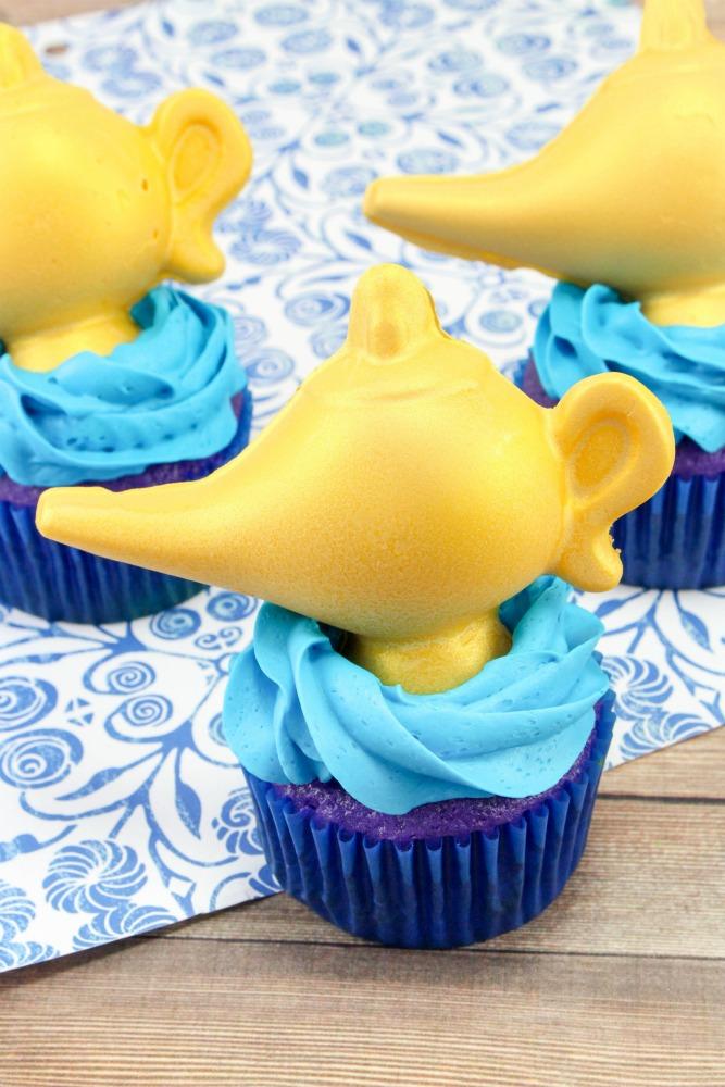 Aladdin Cupcakes, This Mom's Confessions
