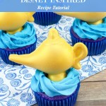 Aladdin Cupcakes Disney Inspired Recipe Tutorial