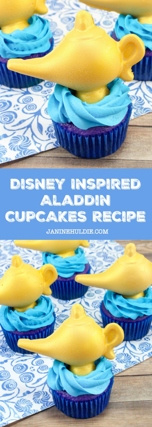 Disney Inspired Aladdin Cupcakes Recipe