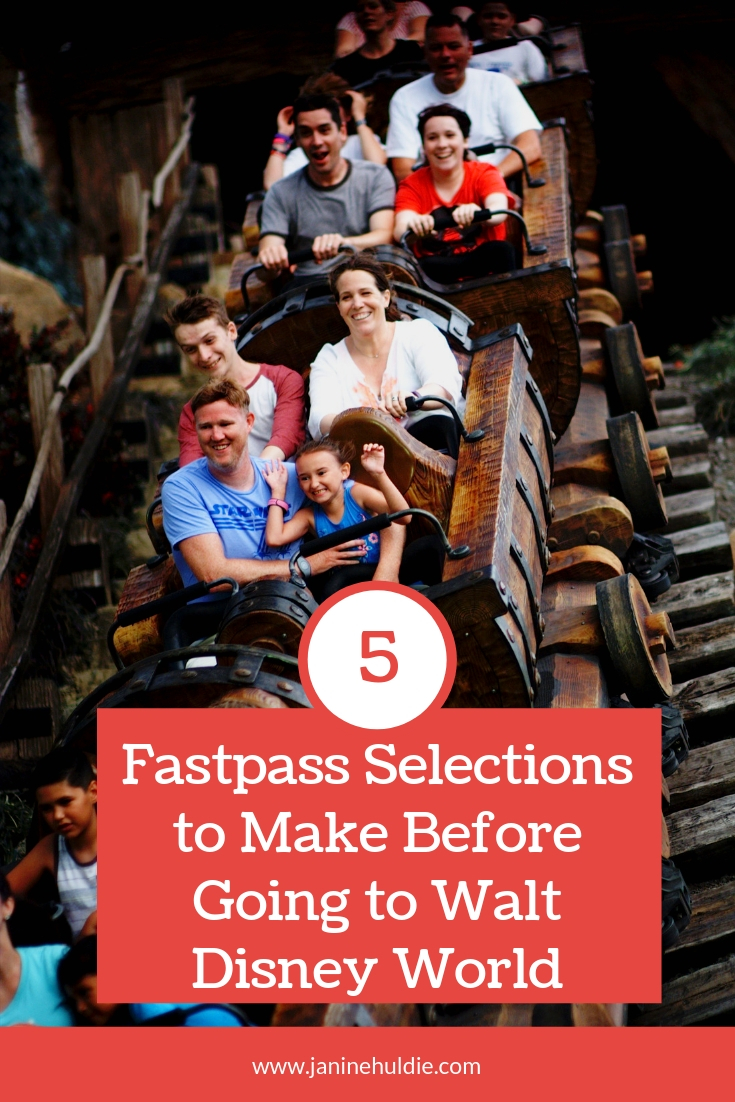 5 Fastpass Selections to Make Before Going to Walt Disney World