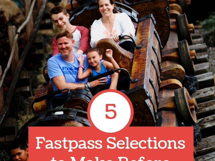Fastpass Selections to Make Before Going to Walt Disney World