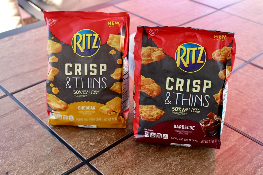 RITZ Crisp and Thins Packaging at Home