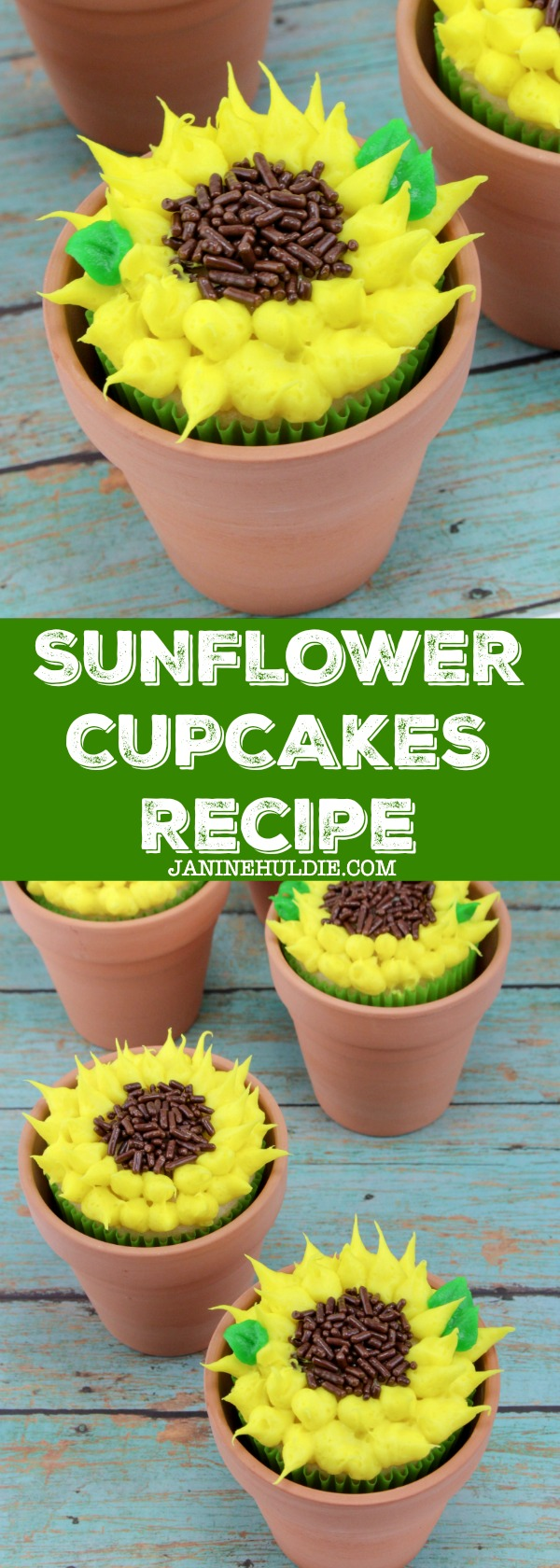 Sunflower Cupcakes Recipe