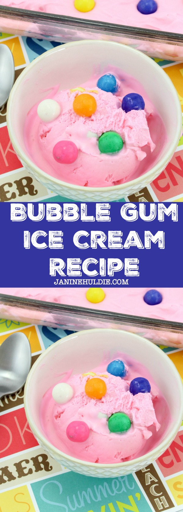 Bubble Gum Ice Cream Recipe