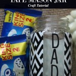 5  Perfect Ways for Kids to Celebrate Father's Day with Fun Washi Tape Mason Jar Craft