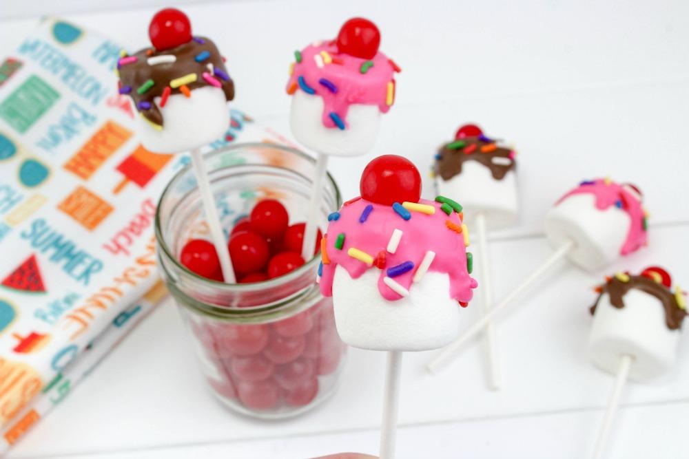 Sundae Marshmallow Pops Final 4