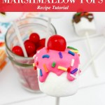 Sundae Marshmallow Pops Recipe
