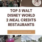 2 Meal Credits Required: Top World Disney World Restaurants You Can't Miss