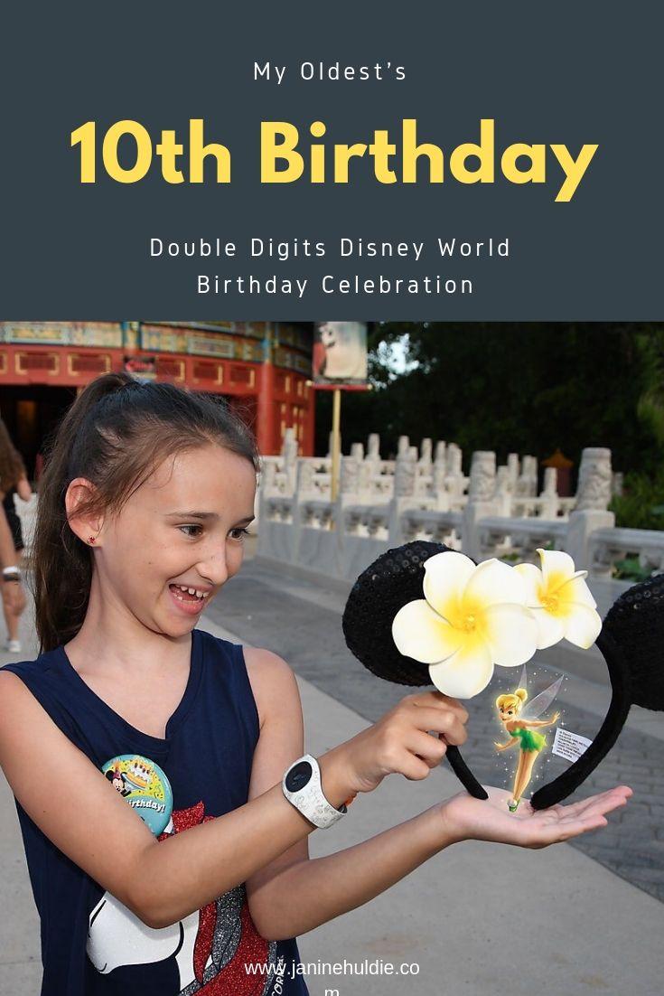 10th Birthday Double Digits Disney World Birthday