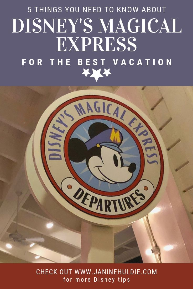 5 Things You Need to Know About Disney's Magical Express for The Best Vacation