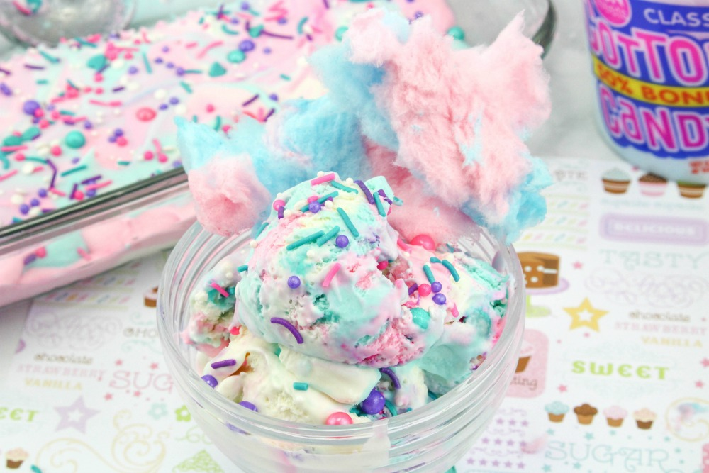 Cotton Candy Ice Cream Final 4