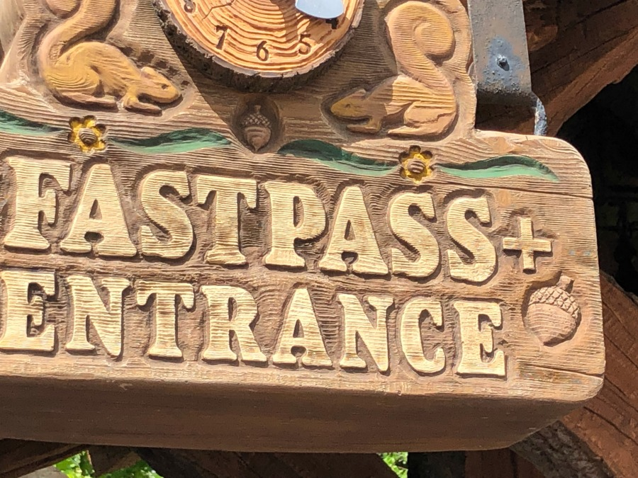 FastPass Entrance 7D Mine Train